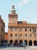 Bologna-Marktplatz maggiore stockfotos