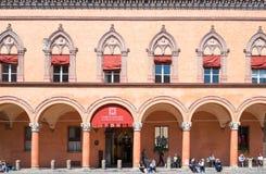 Bologna miasto w Czerwonym kolorze Obrazy Stock