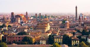 Bologna-Morgen-Ansicht lizenzfreie stockfotografie