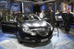 Lancia Delta in Bologna Motor Show Stock Photography