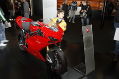 Ducati motor bike Stock Photo