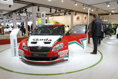 Skoda rally car Stock Photography