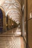 Bologna nocą Zdjęcia Royalty Free