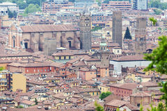 Bologna old town Royalty Free Stock Photography