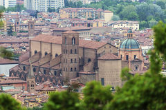 Bologna old town Royalty Free Stock Photo