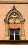 bologna rada miasta okno Zdjęcia Stock