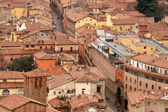 Bologna, the red town Royalty Free Stock Photos