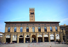 Bologna renaissance palace Italy Royalty Free Stock Images
