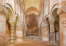 Bologna - Romanic church in st. Stephen Royalty Free Stock Photo