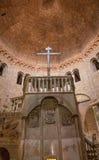 Bologna - Romanic church in st. Stephen or Santo Stefano churches complex. Stock Photo