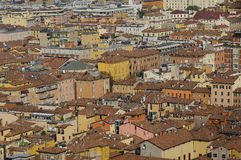 Bologna rooftops Royalty Free Stock Photos