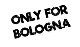 Only For Bologna rubber stamp Royalty Free Stock Photography