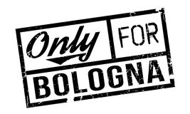 Only For Bologna rubber stamp Royalty Free Stock Image