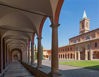 Bologna - Saint Girolamo church Royalty Free Stock Photos