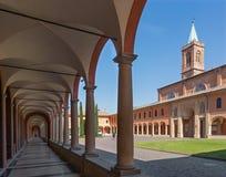 Bologna - Saint Girolamo church Royalty Free Stock Photos