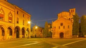 Bologna - Saint Stephen square or Piazza San Stefano Stock Photo