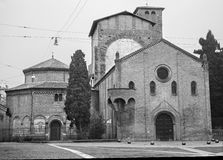 Bologna - Saint Stephen square or Piazza San Stefano Stock Image