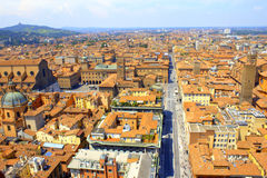 Bologna scenic view Italy Stock Photos