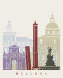 Bologna skyline poster Stock Photo