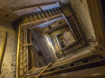 Bologna - Stairs of Torre Asinelli Royalty Free Stock Photos