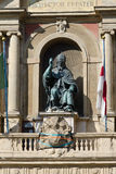Bologna statue of Pope Gregory XIII Royalty Free Stock Photos