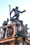 Bologna - Statue von Neptun Stockfotos