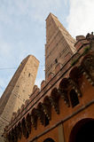 Bologna the two towers Royalty Free Stock Photo