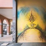 Bologna ulicy sztuka Obrazy Stock