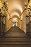 Bologna uroczysty schody Obraz Royalty Free