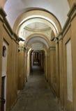 Bologna vid natt Royaltyfria Bilder