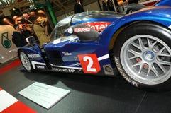BOLOGNA, WŁOCHY - 2 Peugeot GRUDZIEŃ 2010 eksponowali przy Bologna Motorowym przedstawieniem 908 HDI FAP 2010 24 godziny Le Mans obrazy stock