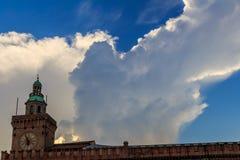 Bologna w Włochy ulicy fotografiach zdjęcie stock