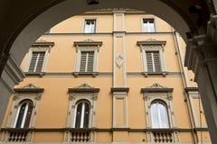 Bologna Windows Royalty Free Stock Photo