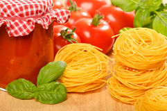 Free Bolognaise Ingredients Stock Photography - 10735852