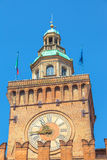 Bologne Clock Tower Stock Photography