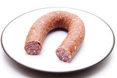 Bologne sausage Royalty Free Stock Photography