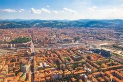 Bologne-Skyline Italien Stockbilder