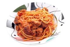 Bolognese макаронные изделия Стоковое Изображение RF