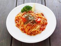 Bolognese макаронные изделия Стоковые Изображения