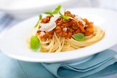 bolognese спагетти Стоковые Изображения RF