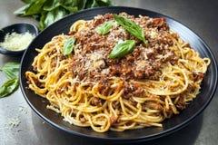 bolognese спагетти Стоковое Изображение
