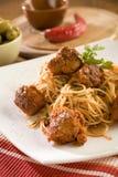 bolognese спагетти Стоковое фото RF