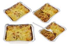 bolognese lasagna Стоковые Фотографии RF