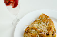 Bolognese lasagna Royalty Free Stock Photography