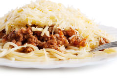 Bolognese pasta Stock Photos
