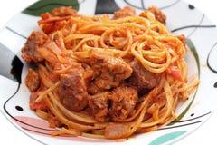 Bolognese Pasta Stock Photo