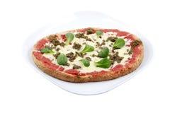 bolognese pizza Fotografering för Bildbyråer