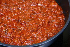 Bolognese sauce Royalty Free Stock Photos