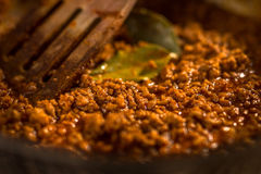 Bolognese sauce Royalty Free Stock Photo
