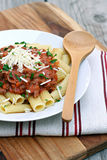Bolognese Sauce with Pasta Royalty Free Stock Photo